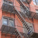 nyc architecture fire escape stairs