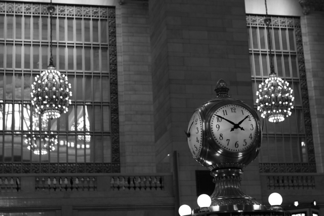 nyc central station clock