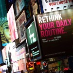 nyc time square billboard sign