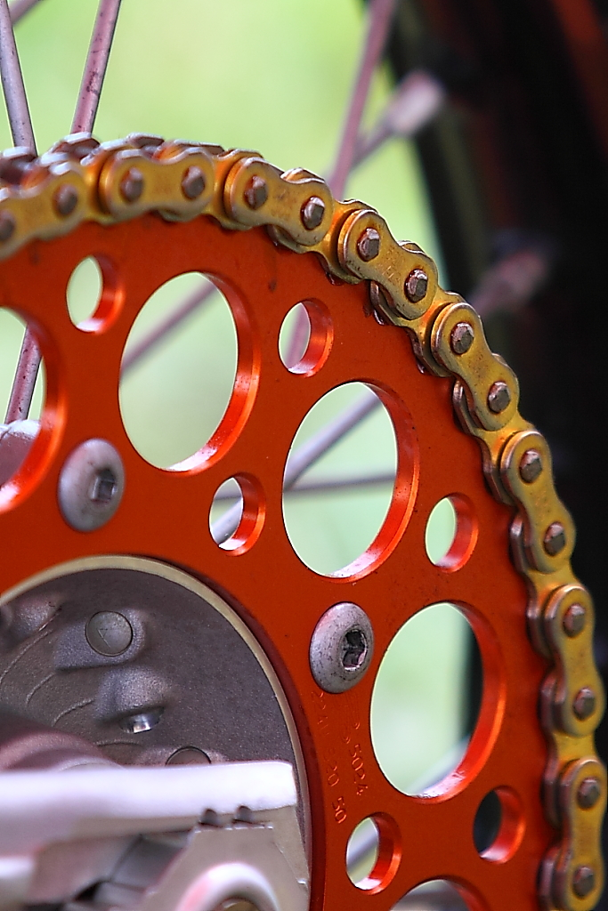 Motocross sprocket Ste-Julie