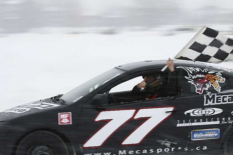 quebec ice car racing