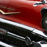chevrolet bel air fron grill