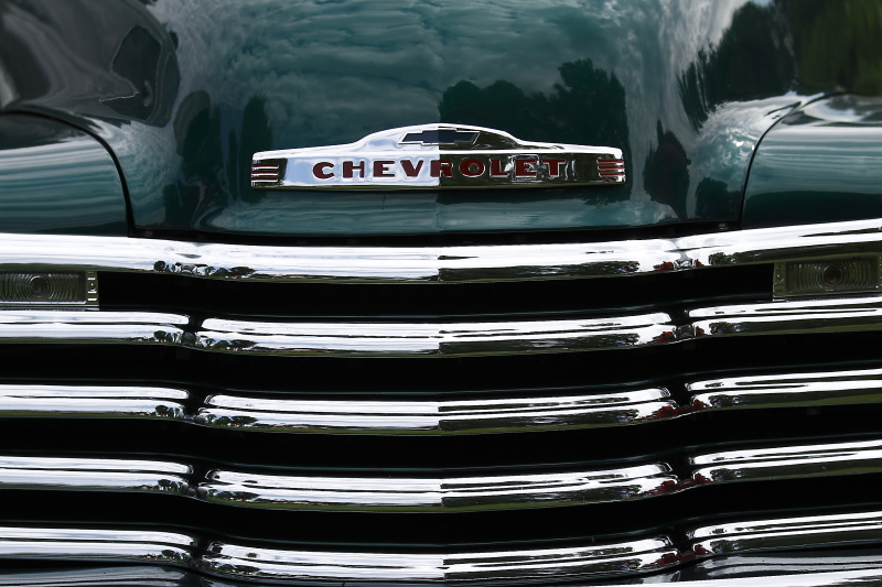 old chevrolet pickup grill