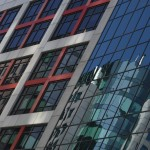 toronto architucture cbc building reflection