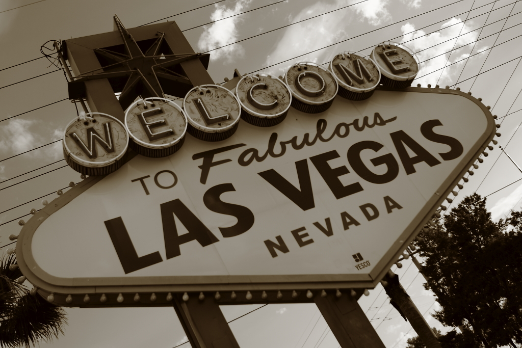 las vegas old welcome sign