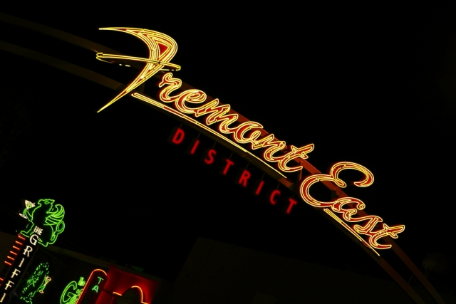 las vegas neon sign fremont east