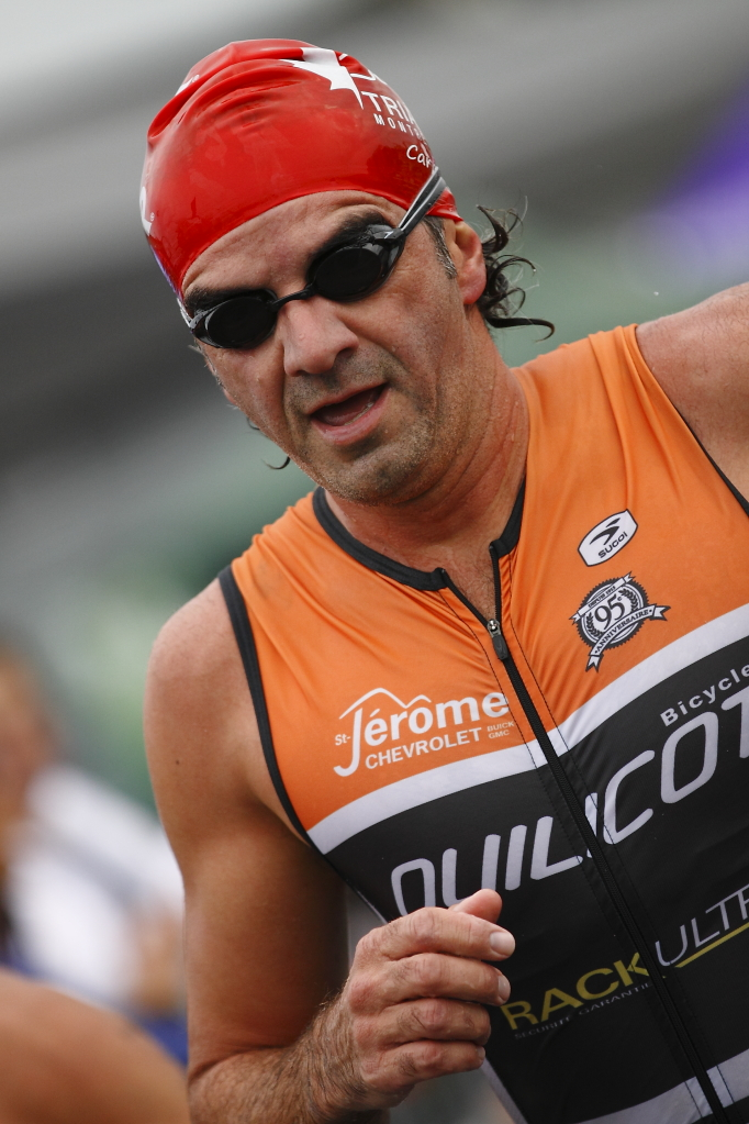esprit triathlon man runner athlete competitor