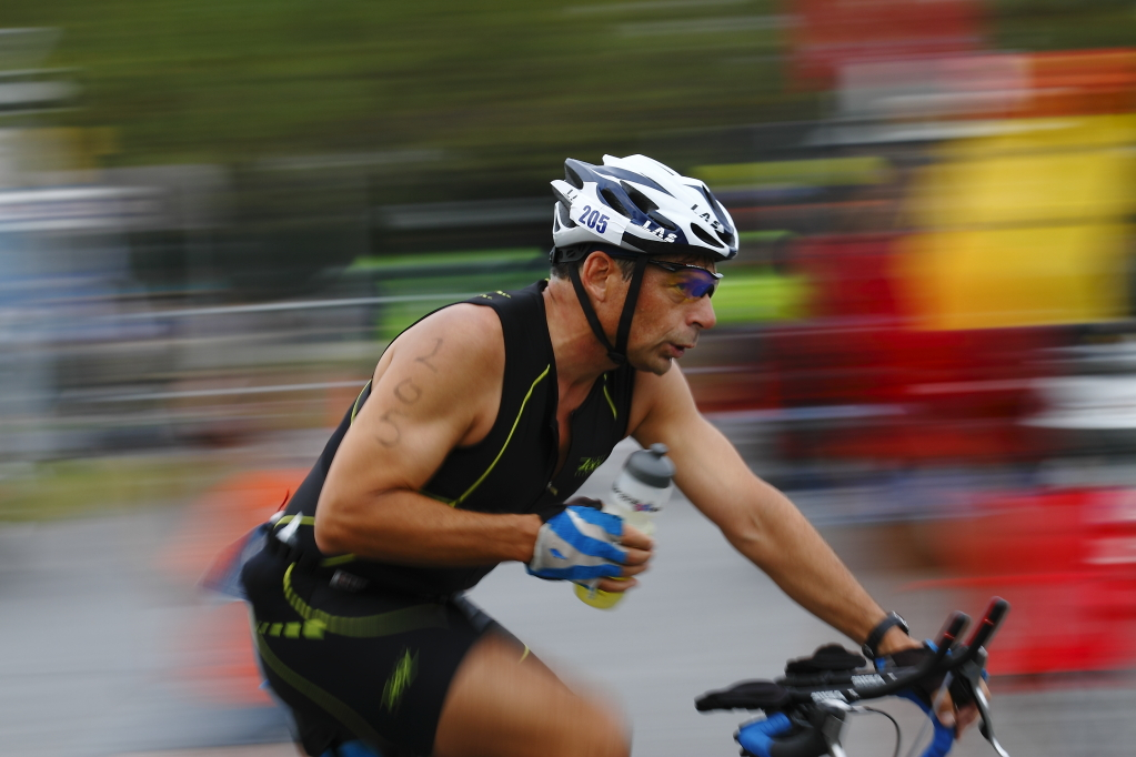 esprit triathlon man cyclist athlete competitor