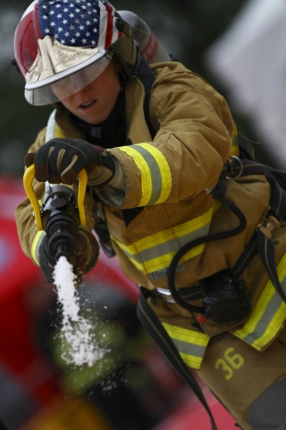 firefit competition woman firefighter